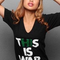 The This Is War VNeck : Adapt : Karmaloop.com - Global Concrete Culture