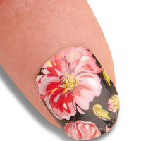Point the Way Nail Stickers in Floral | Mod Retro Vintage Cosmetics | ModCloth.com