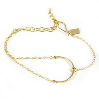 Favor Jewelry: Niche Bracelet Gold Fill, at 18% off!