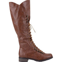 BAMBOO Croft Lace Up Womens Boots - Tillys.com - Surf and Skate Clothing, Shoes and Accessories - From Volcom, 			Roxy, Hurley, Fox