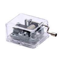 Laxury Plastic Music Box, Play the Wind Forest of Tonari No Totoro (Model Sy003,clear Base)