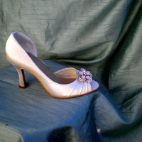 Wedding Shoes Ivory -- Champagne Wedding shoes -- Pick your color