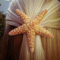 Jumbo Starfish Hair Barrette
