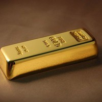 New 3d 8gb Gold Bar flash drive Usb Flash Pen Drive Memory