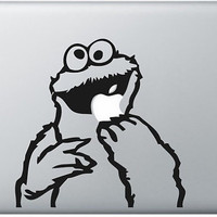 cookie monster mac decals