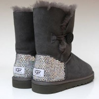 Swarvoski crystal Ugg Boots