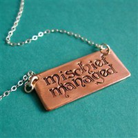 Mischief Managed Necklace - Spiffing Jewelry