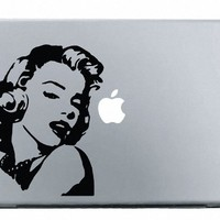 Marilyn Monroe MacBook Decal Mac Apple skin sticker