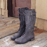 Outpost Lace-up Boots, Rugged Boots & Shoes