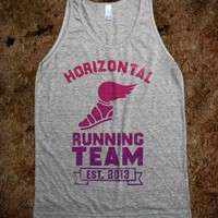 Horizontal Running Team (Vintage Tank)