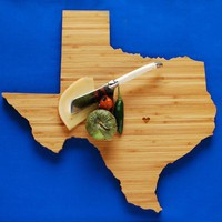 AHeirloom's Texas State Cutting Board by AHeirloom on Etsy
