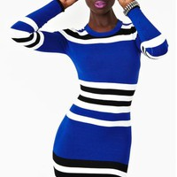 Cecilia Stripe Dress
