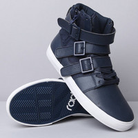 Radii Straight Jacket VLC Navy Leather