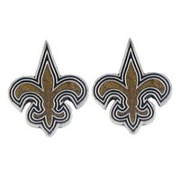 New Orleans Saints NFL Stud Earrings
