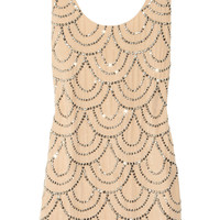 Rachel Gilbert | Scala beaded silk mini dress | NET-A-PORTER.COM