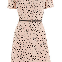Oasis Formal | Multi Natural Spot Skater Dress | Womens Fashion Clothing | Oasis Stores UK