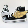 Superhero Shoes- Gold Wings