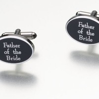 Father Of Bride Cufflinks