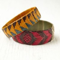 Bluma Project Zuma Woven Bangles at Free People Clothing Boutique