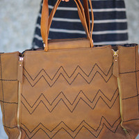 Her Tan Crush Purse: Suede | Hope's