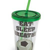 Amazon.com: Eat Sleep Breathe Soccer Insul. Cup: Kitchen & Dining