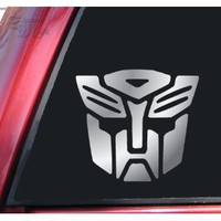 Transformers Autobot Vinyl Decal Sticker - Shiny Chrome : Amazon.com : Automotive