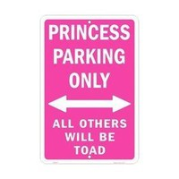 Amazon.com: Princess Parking Only Parking Sign: Everything Else