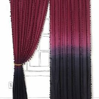 Wavering Ombre Curtain - Anthropologie.com