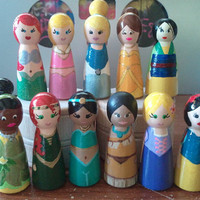 Little Wooden Princess Characters