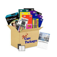 Care Package College Study Survival Items 19 items + Free Wall Calendar!