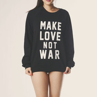 Make Love Sweatshirt | declared