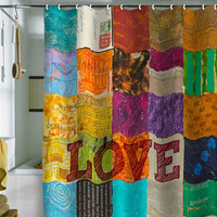 DENY Designs Home Accessories | Elizabeth St Hilaire Nelson Love Shower Curtain