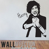 1D - HARRY STYLES - ONE DIRECTION VINYL WALL DECAL STICKER POSTER