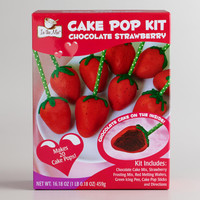 Strawberry Chocolate Cake Pop Kit