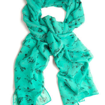 Downtown for Adventure Scarf | Mod Retro Vintage Scarves | ModCloth.com