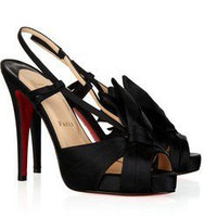 Christian Louboutin Pour Monsieur 120 Satin Sandals - $196.00