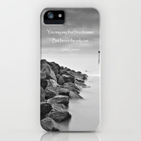 A Dreamer iphone Case for iphone 5, 4S, 4, 3GS, 3G by Alice Gosling | Society6