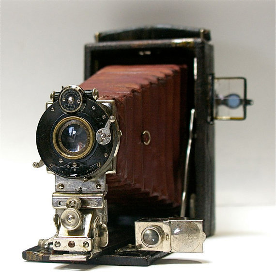 Antique Kodak Film Plate Premo Camera 19061916 by CanemahStudios