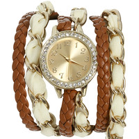 Chiffon Chain Wrap Watch | Shop Facebook - Just Arrived at Wet Seal