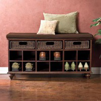 Chelmsford Shoe Bench, Shoe Organizer, Shoe Storage | Solutions
