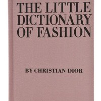 Books with Style The Little Dictionary Of Fashion | SHOPBOP