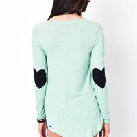 heart-arm-patch-top IVORYBLACK MINTBLACK - GoJane.com