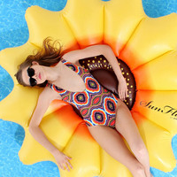 Urban Outfitters - Sunflower Pool Float