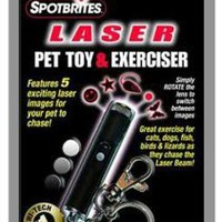 Amazon.com: Ethical Pet Spotbrites Laser Pet Toy and Exerciser: Pet Supplies