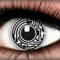 Cyborg Theatrical Contact Lens by ExtremeSFX
