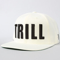 TRILL SNAPBACK (CREAM)