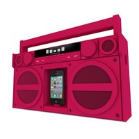 iHome iP4 Portable FM Stereo Boombox for iPhone/iPod
