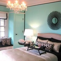 Tiffany Blue Teen Room Ideas - Design Dazzle