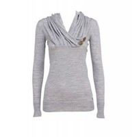 Emu Rosebrook Pullover in Heather Grey