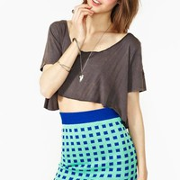 Digital Knit Skirt